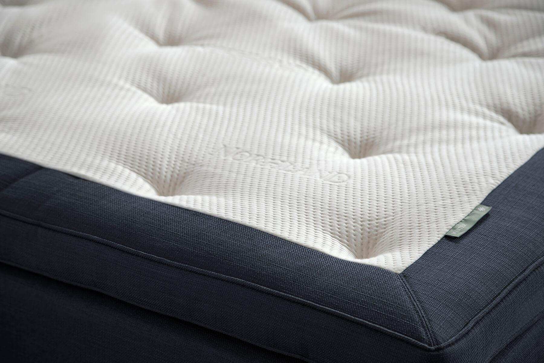 Køb Eksklusiv Topmadras – Wonderpur – BlÃ¥ – 210×210 cm